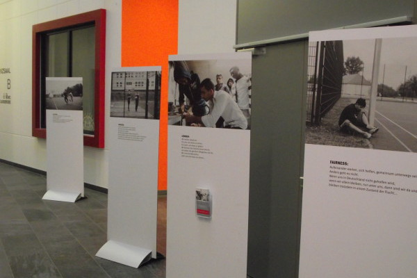 Bild von der Ausstellung